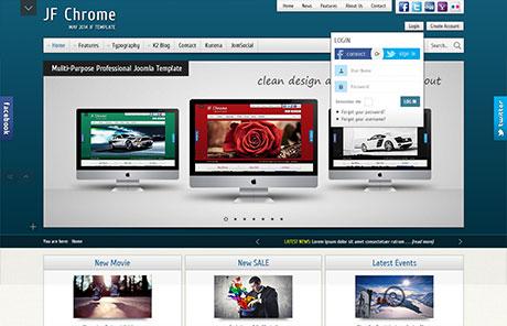 Joomla Templates Demo - JF Side Panel   JoomForest